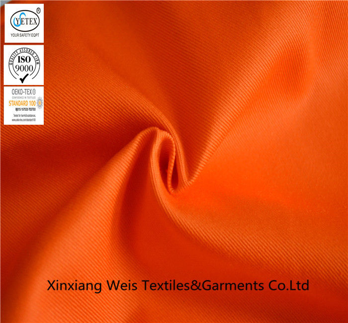 Cotton Nylon Fire Retardant Fabric High Tenacity NFPA2112 For Safety Coverall